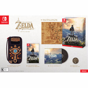 Zelda: Breath of the Wild - Special Edition (Nintendo Switch)