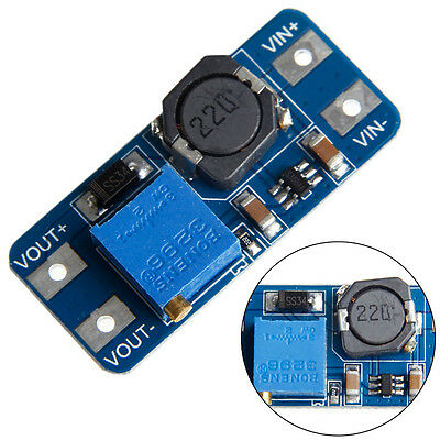 5pcs Mt3608 Dc-dc 2a Step Up Boost Power Supply Adjustable Converter Module New
