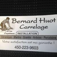 Carreleur  Bernard Huot