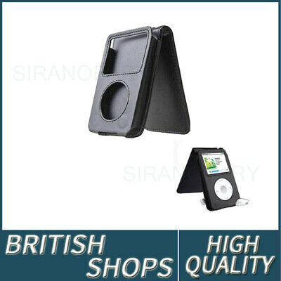 1PC Black Leather Case Cover For Apple iPod Classic 80&120&160GB 6th Generation