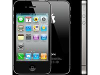 iphone 4 -almost new - o2-not unlocked