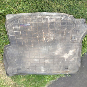 Jeep jk unlimited weathertech rear mat with side subwoofer London Ontario image 1