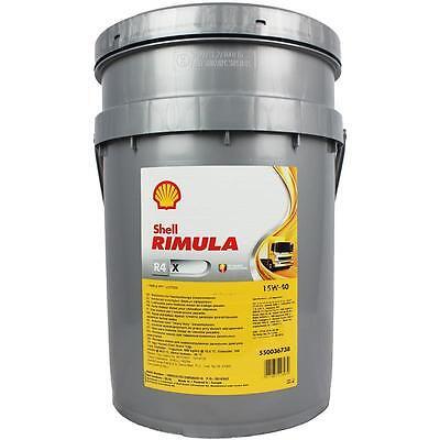 Shell Rimula R4 X 15W-40 20 Liter Kanister Motorenöl Deutz MAN Deutz Iveco Volvo