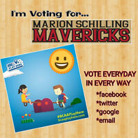 VOTE Marion Schilling for BCAA play here