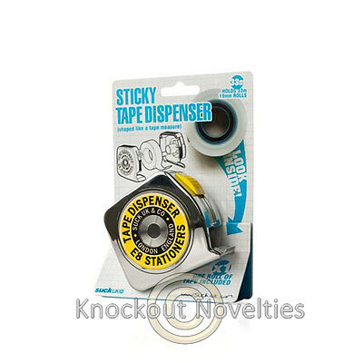Sticky Tape Dispenser Funny Novelty Desk Office School Supply Supplies - Novelty Office Supplies