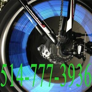 12PCS Blue Bicycle Wheel Reflector Spoke Bike Cycling Reflective
