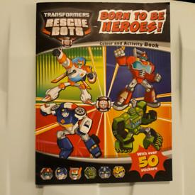 Rescue bots transformers