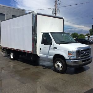 2014 Ford E-Series Van CUBE E-450 18 PIEDS Fourgonnette, fourgon