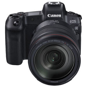 NEW Canon EOS R Mirrorless Camera with 24-105mm IS USM Lens Kit