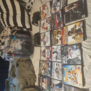 Ps2 games and controllers for sale