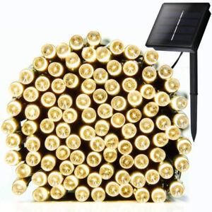 Solar String Lights, 72ft 200 LED Solar Christmas Light Outdoor