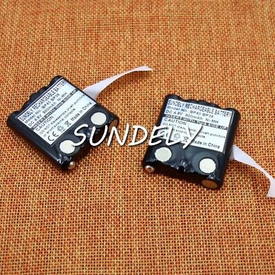 2x Motorola Radio Walkie Talkie Battery TLKR T50 T60 T61 1PIN 800mAh GMRS680