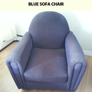 CASUAL SOFA CHAIR NO RIPS OR TEARS - PRICED TO SELL