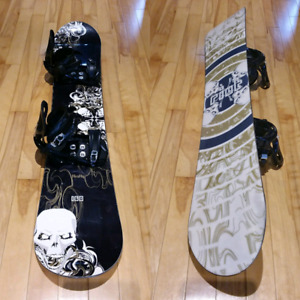 Firefly Riot 160 cm Snowboard with K2 Bindings