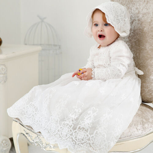 girl bodysuit and hat lace christening gift Baptism set baby girls christening bodysuit white baby christening set ivory baptism clothes