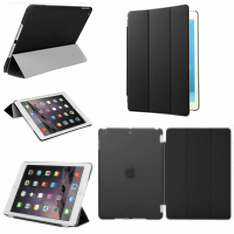 US For iPad Air 1  A1474 A1475 A1476 Magnetic Smart Cover Ca