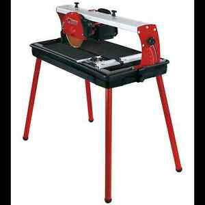 TILE CUT SAW MACHINE TABLE WET WATER RADIAL DIAMOND BLADE LASER Sutherland Sutherland Area Preview