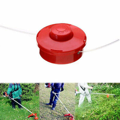 BUMP & FEED COMMERCIAL GRASS TRIMMER HEAD UNIVERSAL DUAL LINE FITS MOST - Dual Line Trimmer Head