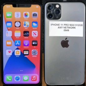 512GB iphone 11 PRO MAX - ANY NETWORK - £649