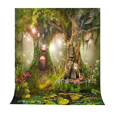 Photo Background 5X7FT Fairy Tale Photography Backdrop Studio Props O4Q6 ()