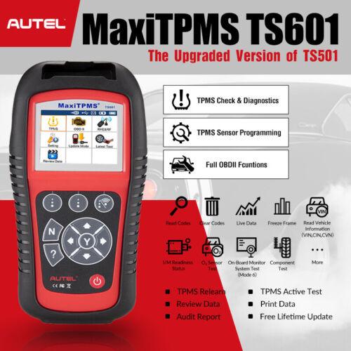 Autel MaxiTPMS TPMS Tire Pressure Monitoring System Programming Reset Tool TS601