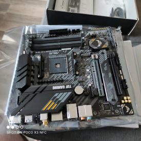 ASUS Tuf gaming B550 plus WiFi motherboard brand new