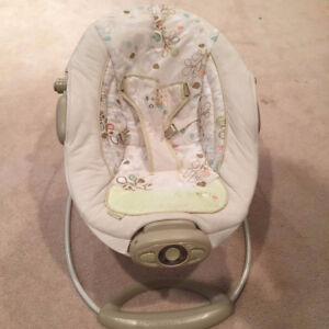 Vibrating Baby Chair - Sound and Vibration with Belt - $40
