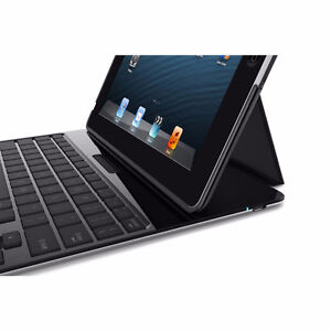 NEW/Belkin YourType iPad 2/3/4 Folio with Detachable Keyboard