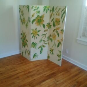 Hand-painted Room Divider