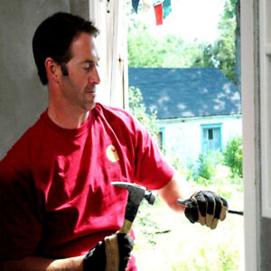 """We are looking for a man for """" Small Window and Door Repairs """""""