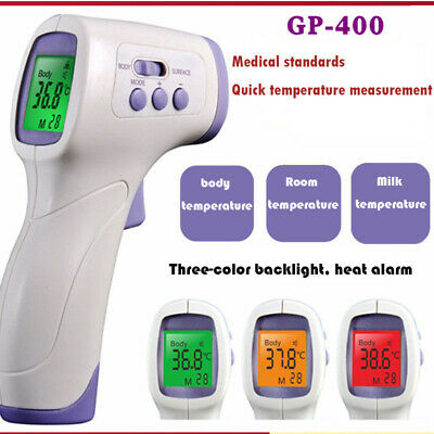 Medical Ir Thermometer No Touch Digital Forehead Baby Adult Temperature Gun