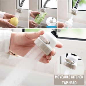 New 360 Degree Moveable Kitchen Tap Head High Quality Bathroom Kitchen Faucet Accessory Tap Splash Regulator Shower Head Supply Shower Heads