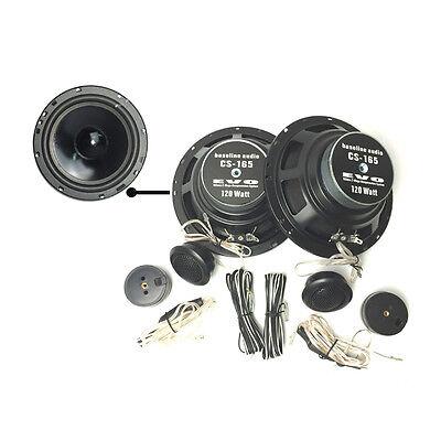BA-CS165 Lautsprecher Boxen 16,5cm 165mm Kompo System 120W