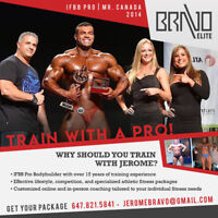 Achieve your fitness goals with IFBB Pro, Mr. Canada!