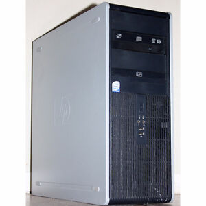 HP dc7900 Desktop PC Core2 Duo 2.66GHz DVDRW 4GB RAM 160GB HDD