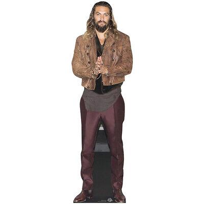 Lifesize Cardboard Cutout (JASON MOMOA Lifesize CARDBOARD CUTOUT Standee Standup Poster Game of Thrones)