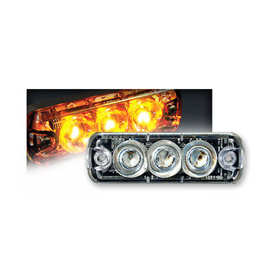 Tomar Rect-13 Mini Led Warning Light Amber Rect13lswp-a
