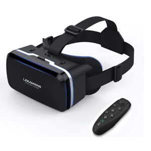 Virtual Reality Headset 4.7~6.0 inches with Remote Controller