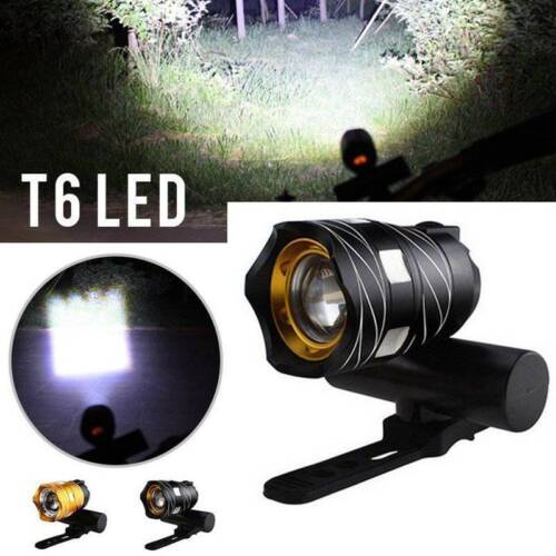 USB Rechargeable XML T6 LED Bicycle Bike Light Front Cycling Light Head Lamp New
