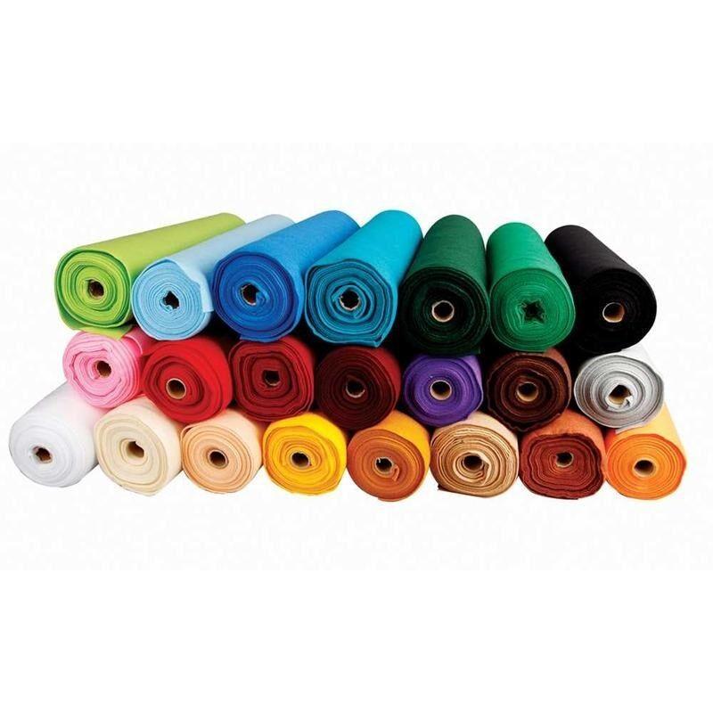 Tessuto Feltro ARTIGIANALE - Colla DECORAZIONI realizzare - Multicolore 1.5mm -