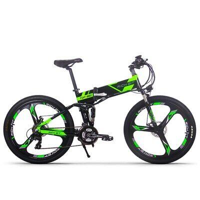 RICHBIT TOP-860 36V 250W Bicicleta Eléctrica De Ciudad Plegable Batería De Litio