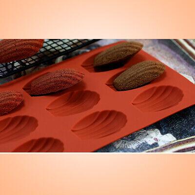 Baking Mould Mini Fancy Bundt Madeleine Shell Cake Pan Silicone Mold 9