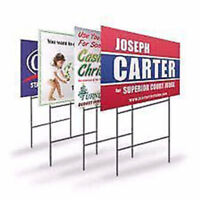 LAWN SIGN SPECIAL FULL COLOUR 2 SIDED