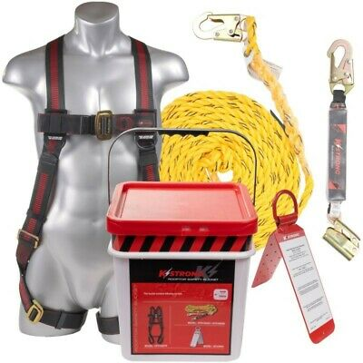 Kstrong Roofers Fall Protection Safety Harness Kit