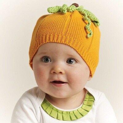 Pumpkin Pie Hat (Mud Pie Knit Pumpkin Hat 0-12)
