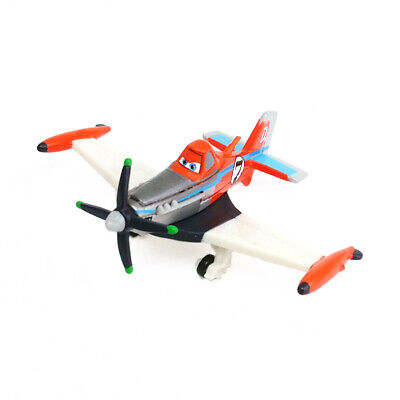 Disney Pixar Planes No.7 Supercharged Dusty Diecast Metal Toy Model Plane Gift - Disney Dusty Plane