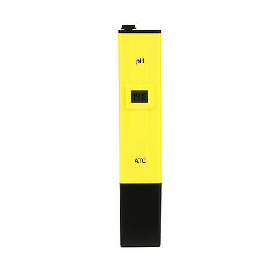 Digital Ph Meter Water Hydroponics Pocket Pen Tester Aquarium Pond Pool Test New