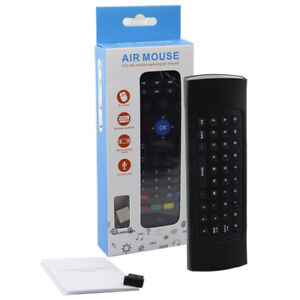 MX3 2.4GHz Wireless Air Mouse And Universal IR Remote Control Fo