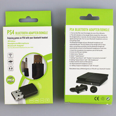 Mini USB Bluetooth Dongle Adapter with Microphone for PS 4 PS4 Bluetooth - Mini Usb Headset Adapter