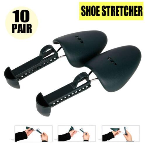 10Pairs Adjustable Men Leather Shoe Tree Shaper Keeper Tree